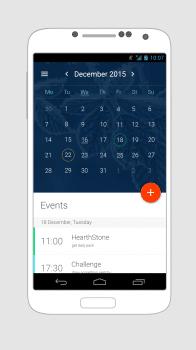 Дизайн приложения календаря android