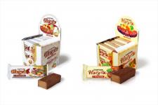 Дизайн упаковки и шоу бокса для шоколада.