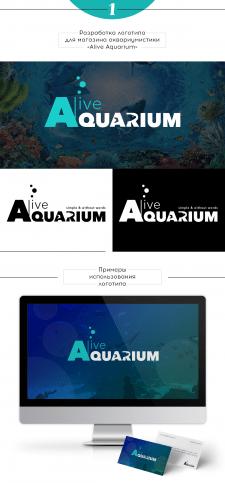 Лого для он-лайн магазина аквариумистики