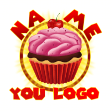 Логотип сладостей