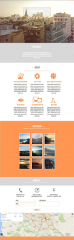 Pure Orange - HTML/Muse Template