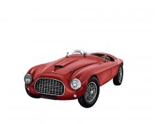 Техдизайн. Ferrari 166