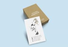 Визитки для марки нижнего белья