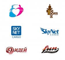 логотипы созданые мной с 2004 года