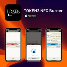 TOKEN2 NFC Burner