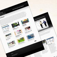 Разработка мини корпоративного сайта