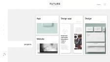 """Веб-сайт для дизайн студии """"Future"""""""