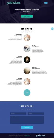 Верстка. Site-portfolio-v.3.0. About.