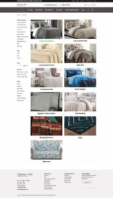 Категории товаров интернет-магазина