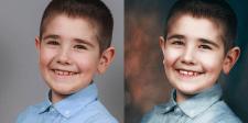 Художественная ретушь детской фотографии