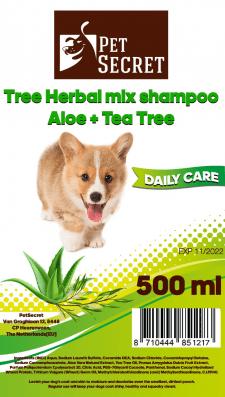 Этикетка шампуня для собак