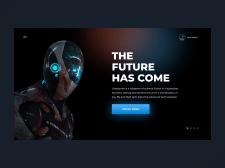 Сайт будущего | Робототехника | Концепт Сайта