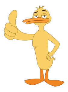Персонаж утка (вариант 2)