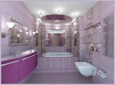 Сиреневая ванна