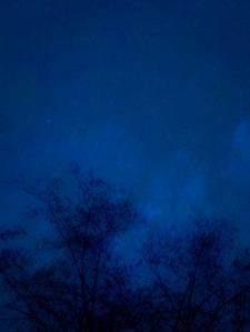 Обработка фото ночного неба