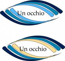 "Логотип ""Un occhio"""