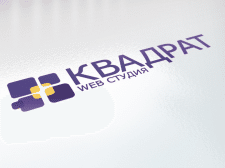 "Логотип веб-студии ""квадрат"""