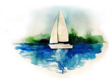 Тихая гавань. Яхта.