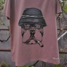 Ручная роспись футболки