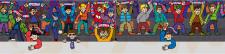 Илюстрация дя стен детского футзала