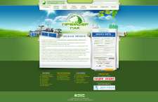 Дизайн для сайта  Premier-pak