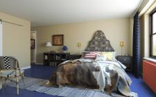 визуализация спальни художницы (США)