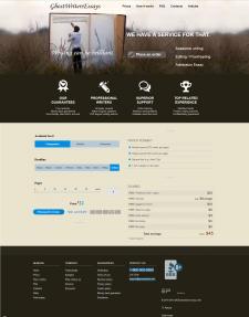 Создание лендинга на Wordpress