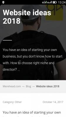Website ideas 2018