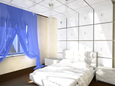 спальня визуализация