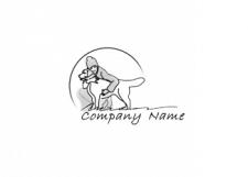 набросок в векторе для логотипа