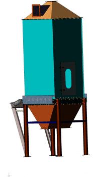 Охладитель (производство пеллет)