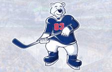 Векторный персонаж для детского хоккейного клуба