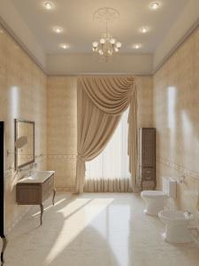 Интерье ванной комнаты