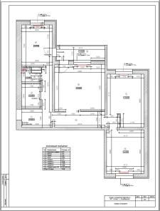 Проект перепланировки 3-комнатной квартиры