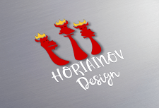 "Логотип ""Horiainov design"""