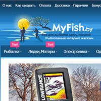 MyFish.by - интернет-магазин на Magento CE