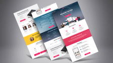 Шаблон сайта для StartUp