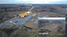 Автосервис - интеграция 3D в фото