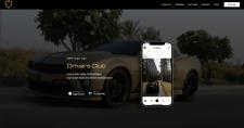 Сайт автомобильной социальной сети
