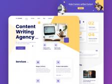 Сайт по создание контента