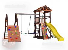 Моделирование детских площадок в SketchUp