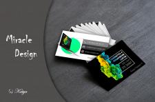 Визитная карточка для вэб-студии