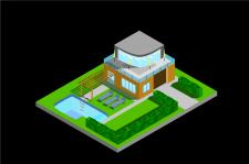 Ізометрія будинок