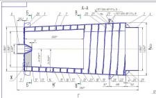 Бутара левая(мельница ММС-70х23 СБ чертеж)