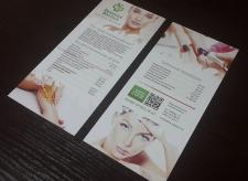 Дизайн еврофлаеров для «Зеленой Аптеки»