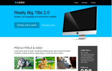 Вёрстка макета из PSD в HTML5/CSS3