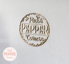 логотип для Pink Pepper corner