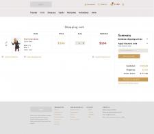 Дизайн корзины интернет-магазина
