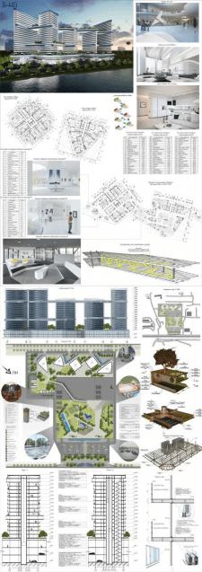 Створення архітектурного проекту Alfa Residen