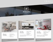 Сайт-портфолио архитектурно-интерьерной компании